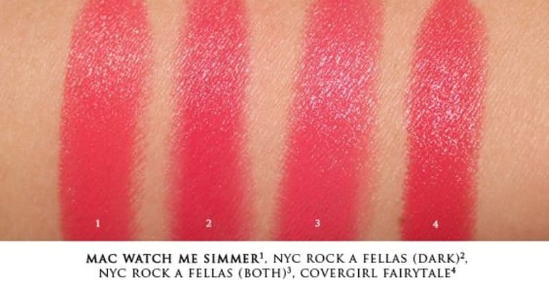 MAC watch me simmer dupes !