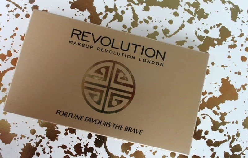 Makeup Revolution Fortune Favors The Brave Eyeshadow Palette 10