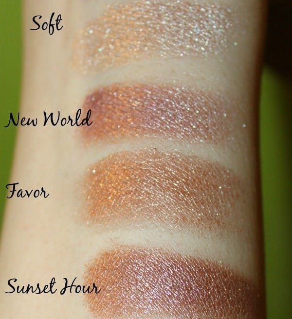 Makeup Revolution Fortune Favors The Brave Eyeshadow Palette 7