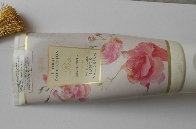 Marks And Spencer Floral Collection Rose Hand And Nail Cream Review