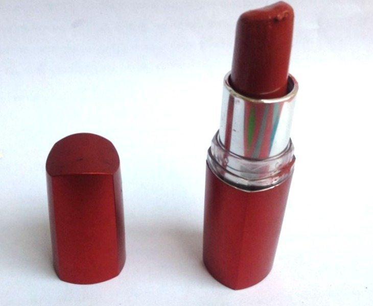 Maybelline Color Sensational Summer Sunset Lipstick review 1