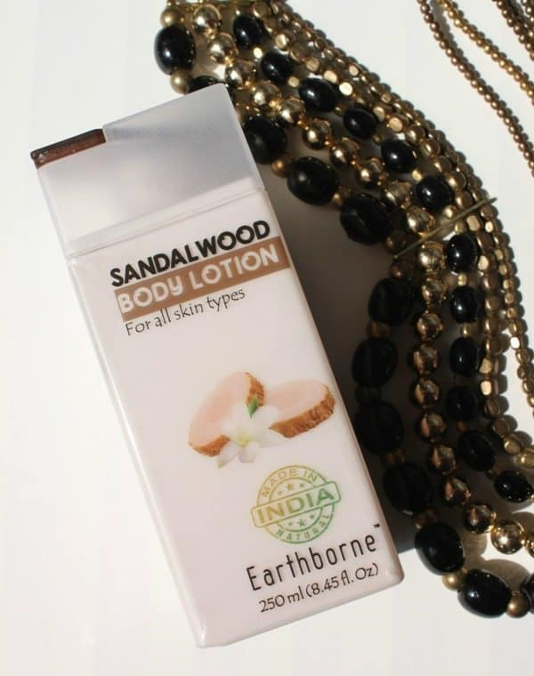 The Nature's Co Sandalwood Body Lotion (Earthborne) Review 4