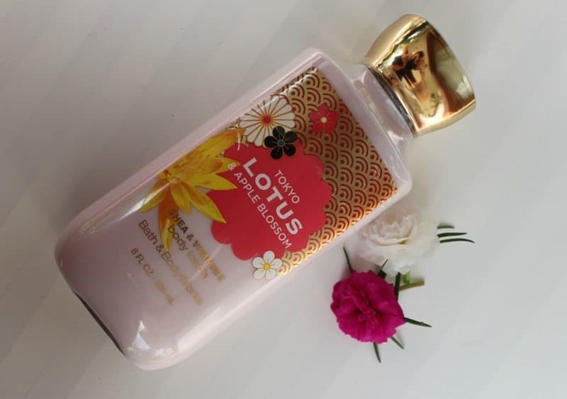 Bath And Body Works Tokyo Lotus Apple Blossom Body Lotion