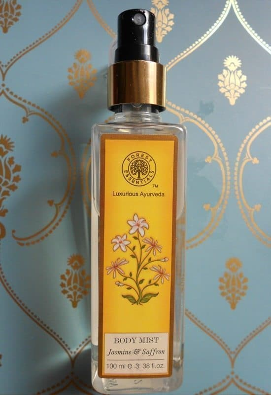 Forest Essential Body Mist Jasmine and Saffron Review