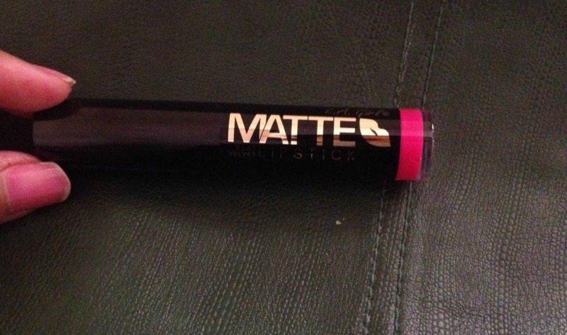 L.A. GIRL Matte Flat Velvet Lipstick Bliss Review