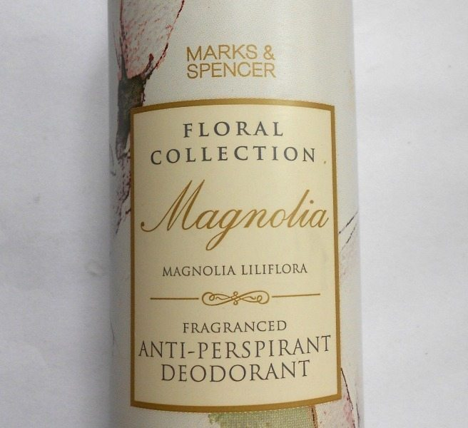 Marks and Spencer Floral Collection Magnolia Anti Perspirant Deodorant 1