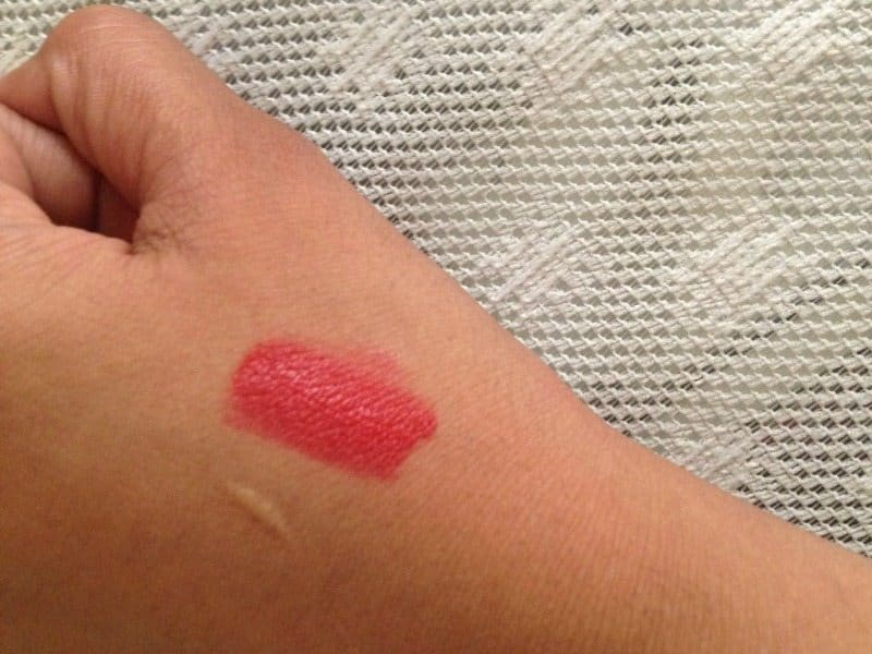 Miss Claire Soft Matte Lip Cream Shade 39 Review  3