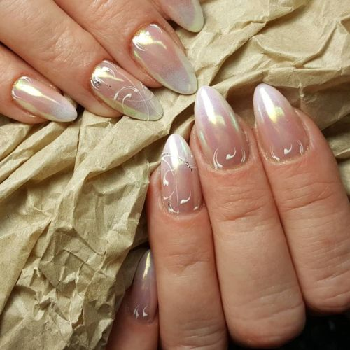 You Will Love these French Manicure Ideas 2019 ! 2