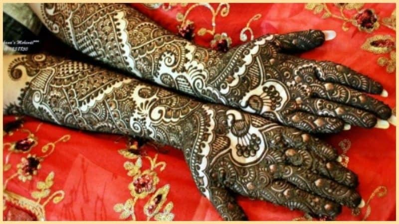 How to Clear Fading Mehendi ! 8