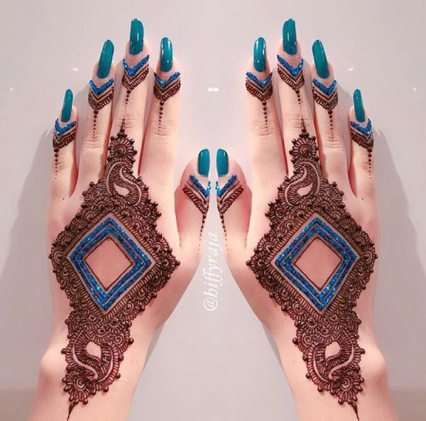 What are some really Easy Mehendi Designs for Girls?