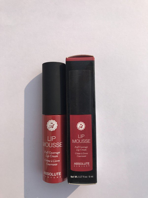 Absolute New York Lip Mousse Pin Up Review