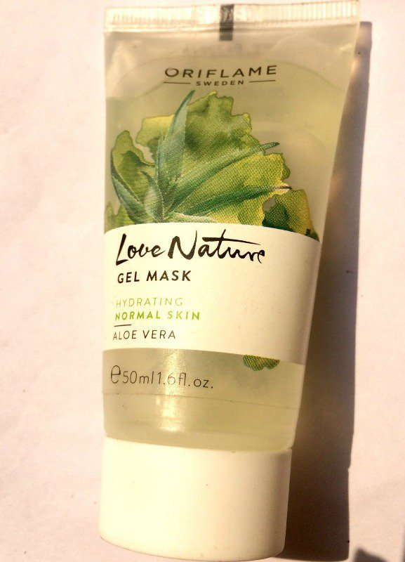 Aloe Vera Face Mask | Oriflame Love Nature