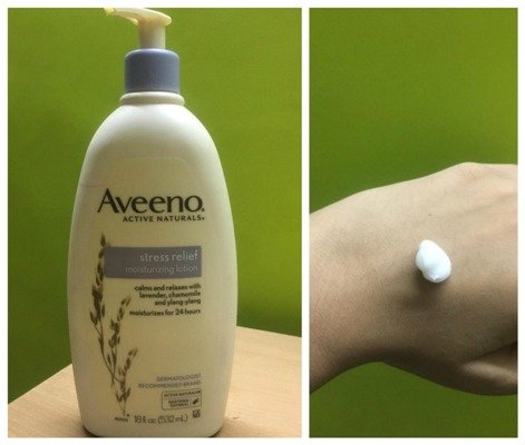 Aveeno Stress Relief Moisturizing Lotion Lavender