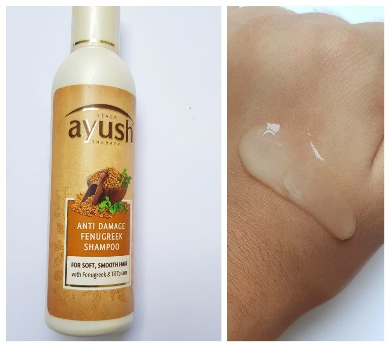 Ayush Anti Damage Fenugreek Shampoo