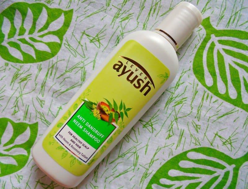 Ayush Anti Dandruff Neem Shampoo Review