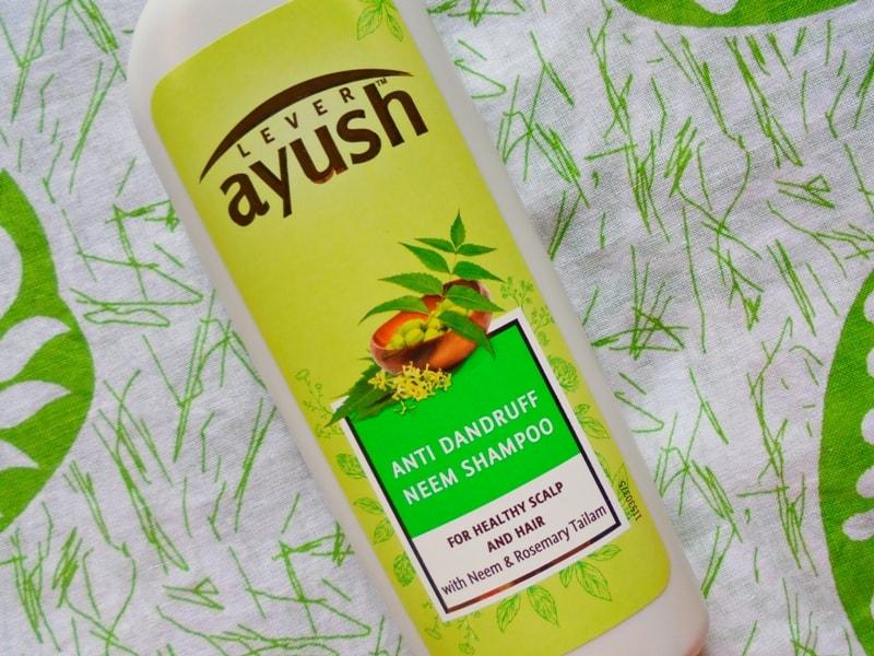 Ayush Anti Dandruff Neem Shampoo Review 4