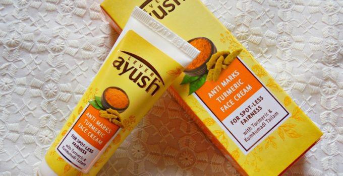 Ayush Anti Marks Turmeric Face Cream Review 1