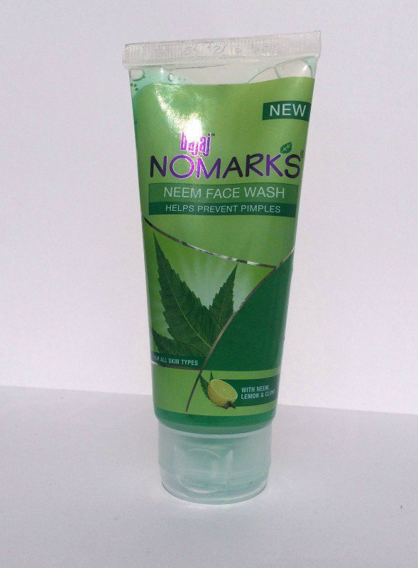 Bajaj No Marks Neem Face Wash