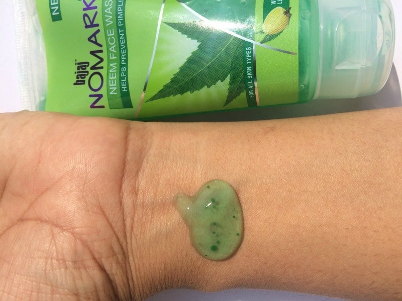 Bajaj No Marks Neem Face Wash 3