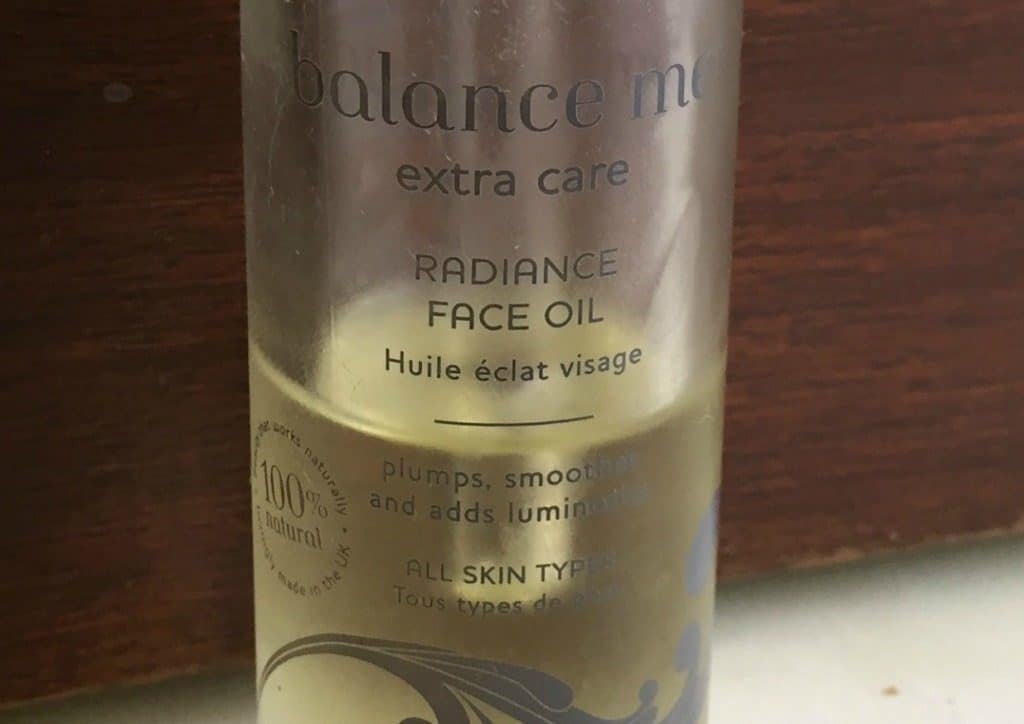 Balance Me Radiance Face Oil 2