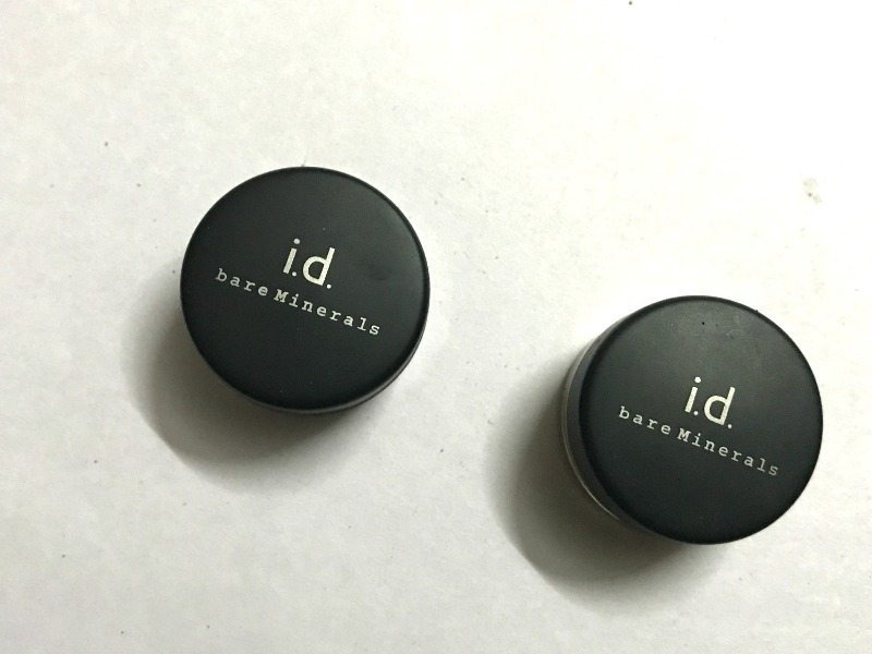 Bare Minerals i.d eye shadow Noble and Lemon Zinger Review