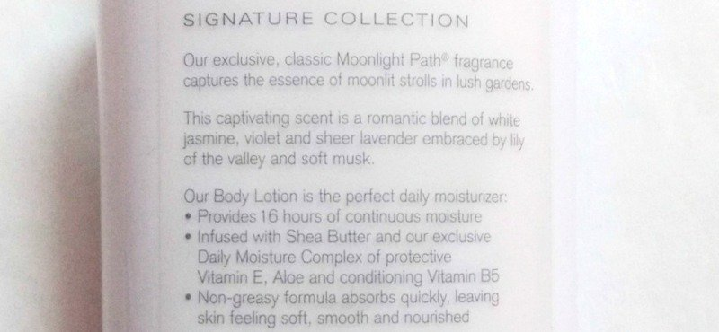 Bath And Body Works Moonlight Path Shea Butter Vitamin E Body Lotion  3