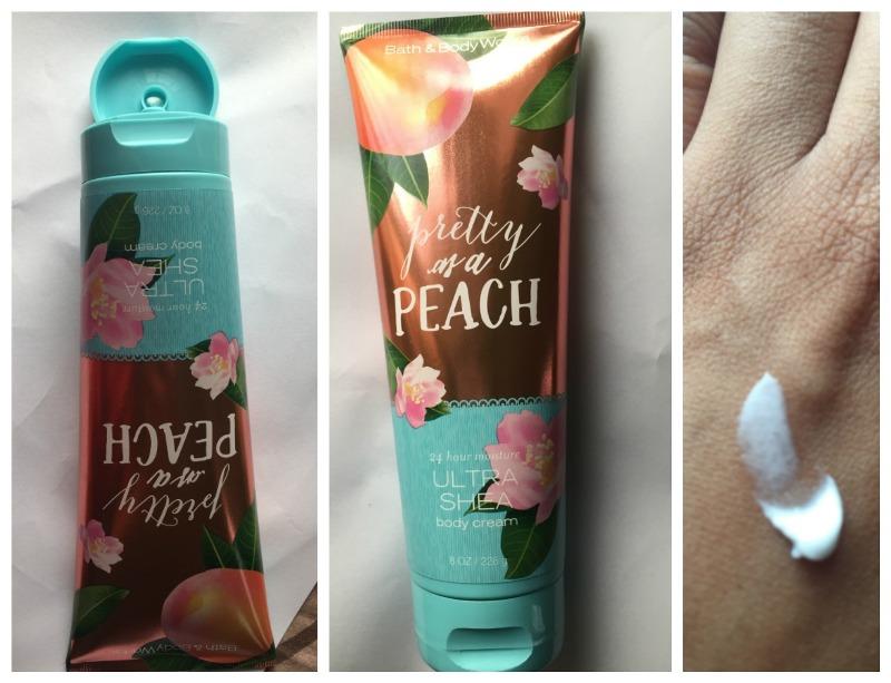 Bath And Body Works Pretty As A Peach Body Cream