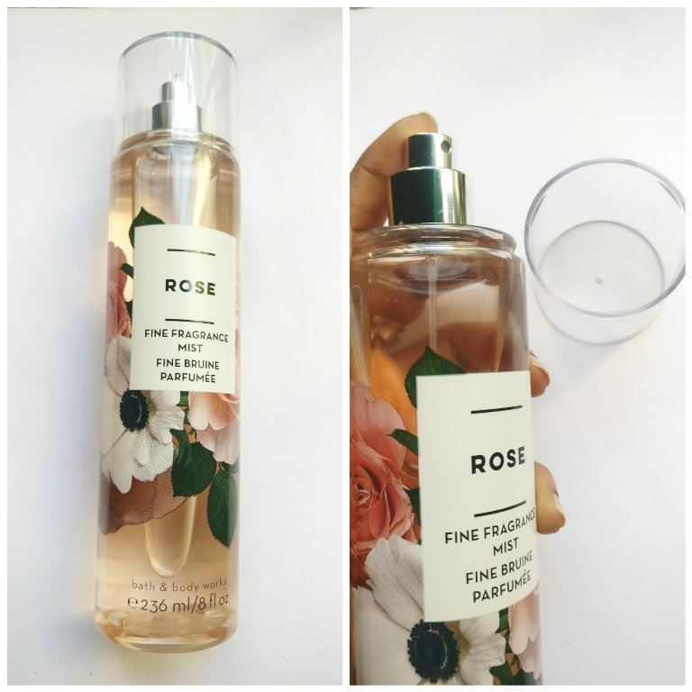 Bath & Body Works Rose Fine Fragrance Mist