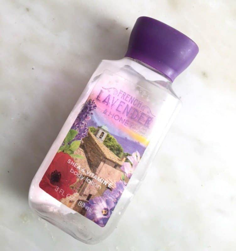 Bath and Body Works French Lavander and Honey Body Lotion