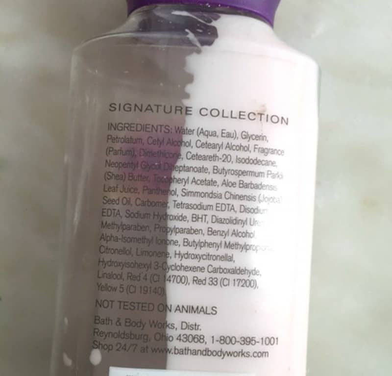 Bath and Body Works French Lavander and Honey Body Lotion  2