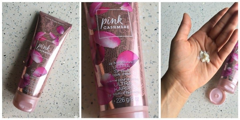 Bath and Body Works Pink Cashmere Body Cream