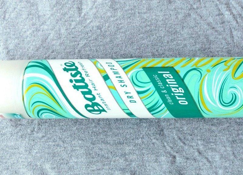 Batiste Instant Hair Refresh Dry Shampoo Original Review