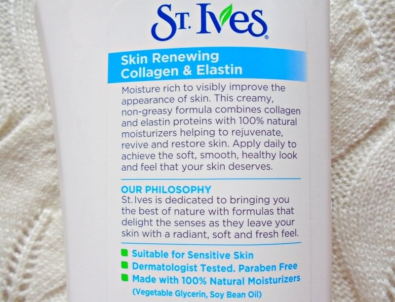 Best Collagen Lotion St Ives Body Lotion Renewing Collagen & Elastin 2