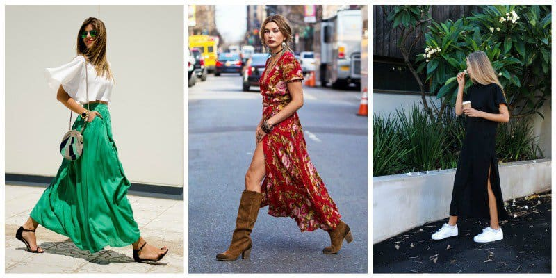 Best Shoes to Wear with Maxi Dress 7