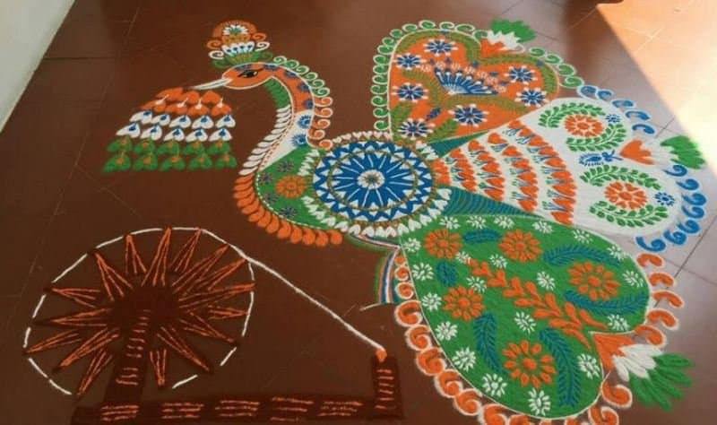 Diversity Drawing Competition Unity In Diversity Rangoli Designs