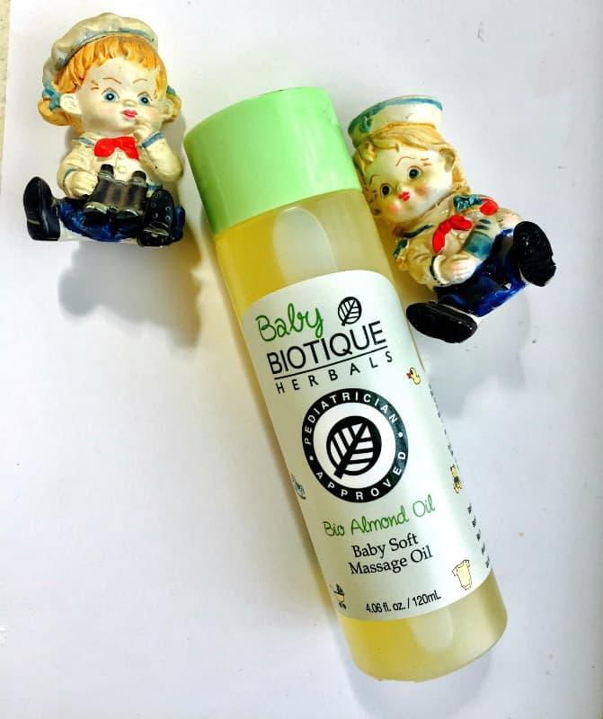Biotique Bio Almond Oil Baby Massage Oil