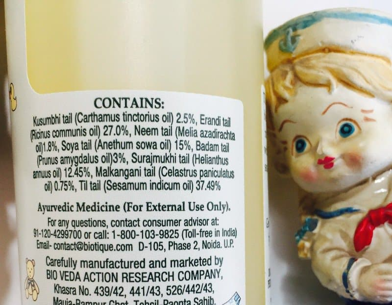 Biotique Bio Almond Oil Baby Massage Oil 1