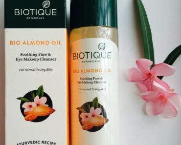Biotique Bio Almond Oil Makeup Cleanser 3