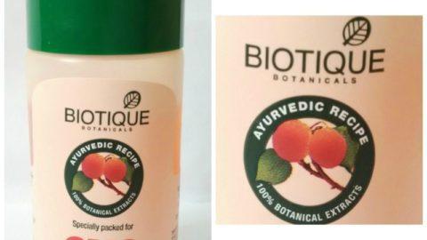 Biotique Bio Apricot Refreshing Body Wash Review 2