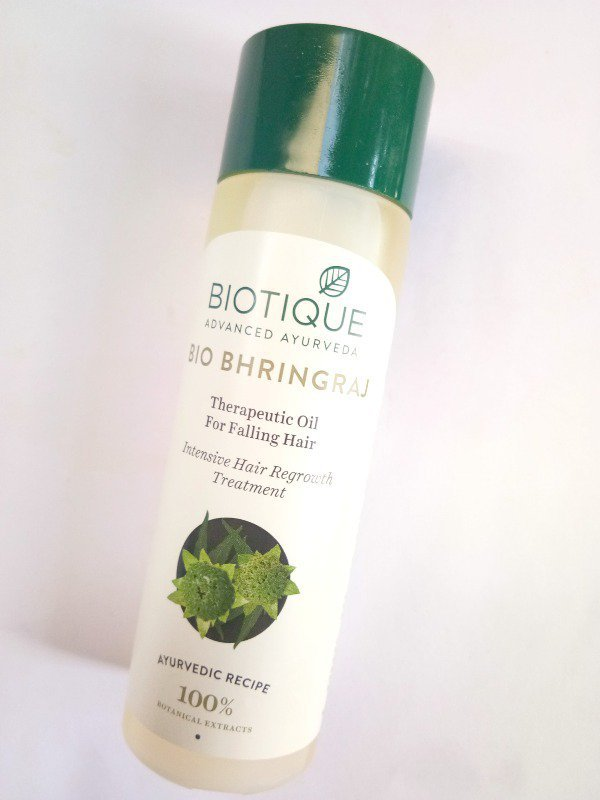 Biotique Bio Bhringraj Fresh Growth Therapeutic Oil for Falling Hair Review 4