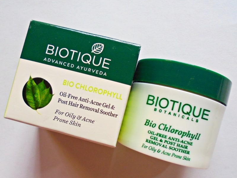 Biotique Bio Chlorophyll Oil-Free Anti-Acne Gel Review
