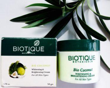 Biotique Bio Coconut Whitening and Brightening Cream 1
