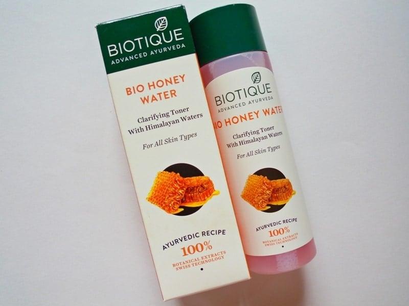 Biotique Bio Honey Water Clarifying Toner with Himalayan Waters Review