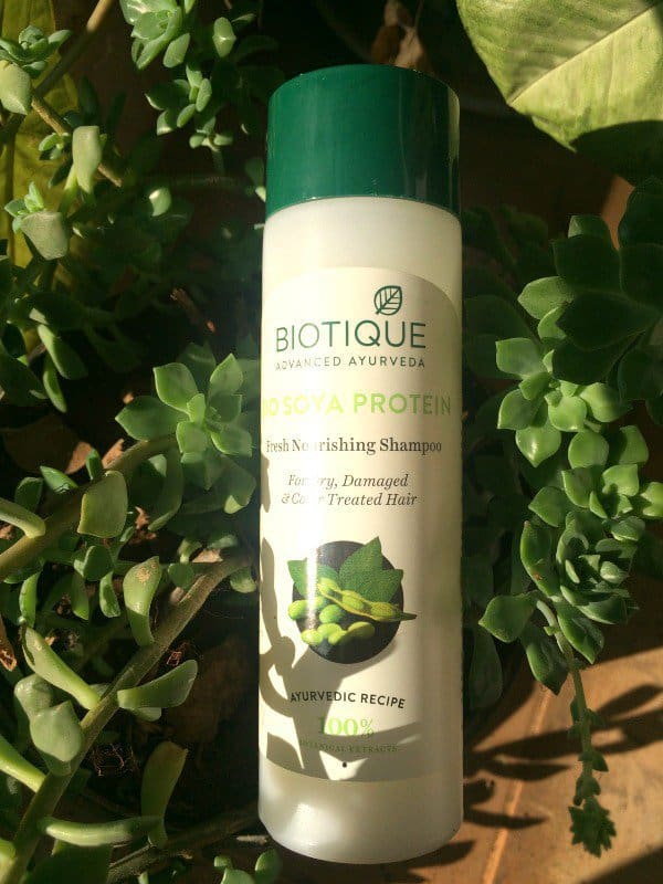 Biotique Soya Protein Shampoo Review