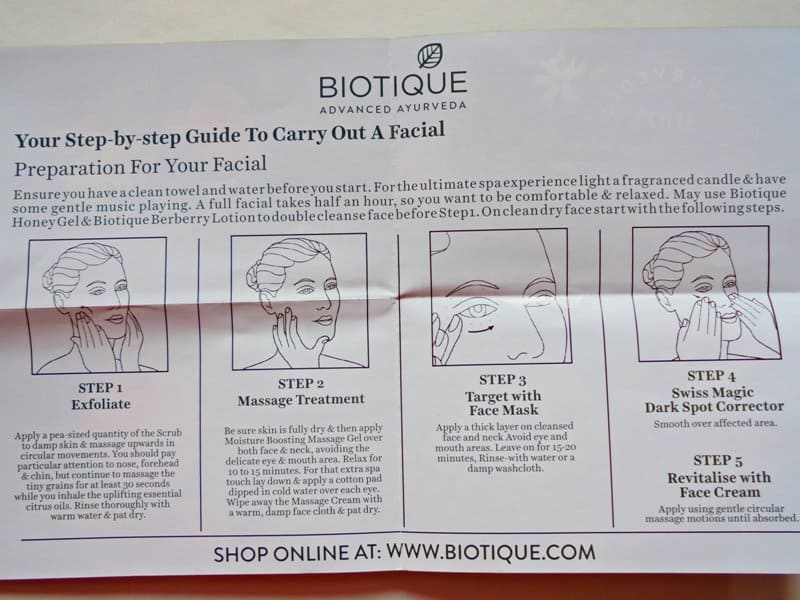 Biotique Facial Kit Party Glow 1