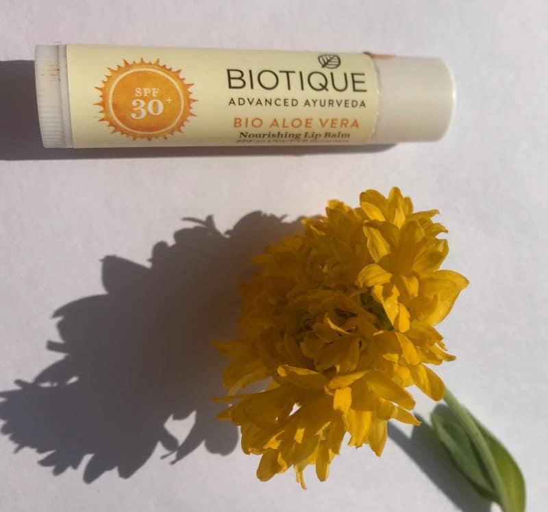 Biotique Lip Balm  Bio Aloe Vera Nourishing