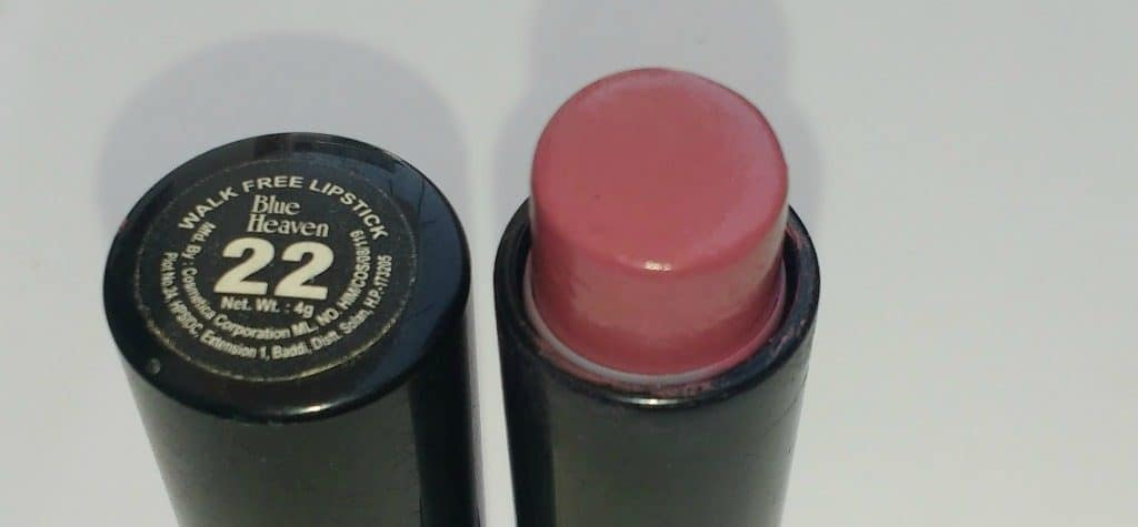 Blue Heaven Walk Free Lipstick LP 22 Review 3