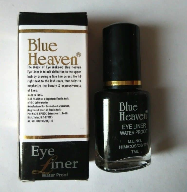 Blue Heaven Water Proof Eyeliner Review