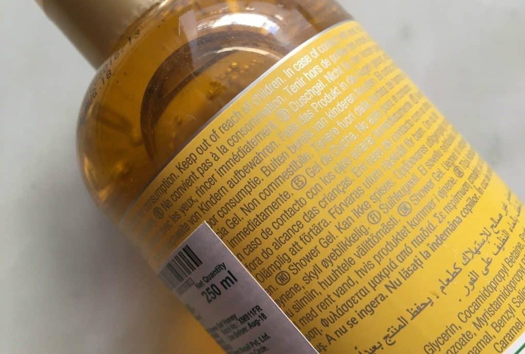 Body Shop Honeymania Shower Gel 1
