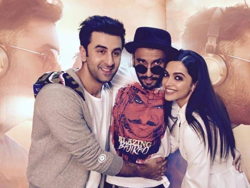 Bollywood Update Ranbir , Ranveer and Deepika 4